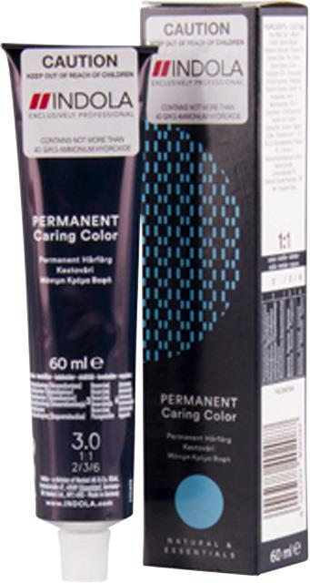 3.0 Indola Professional Permanent Caring Colour 60ml - Dark Brown