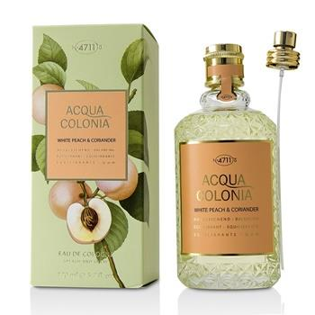 4711 Acqua Colonia White Peach & Coriander Eau De Cologne Spray 170ml/5.7oz Ladies Fragrance