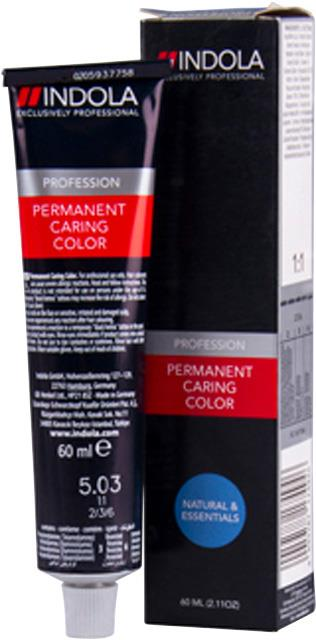 5.03 Indola Professional Permanent Caring Colour 60ml - Light Brown