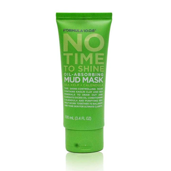 Formula 10.0.6 No Time To Shine Oil-Absorbing Mud Mask 100ml