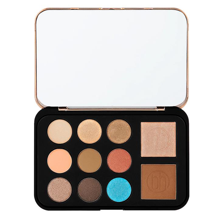 BH Cosmetics Bronze Paradise Eye & Cheek Palette