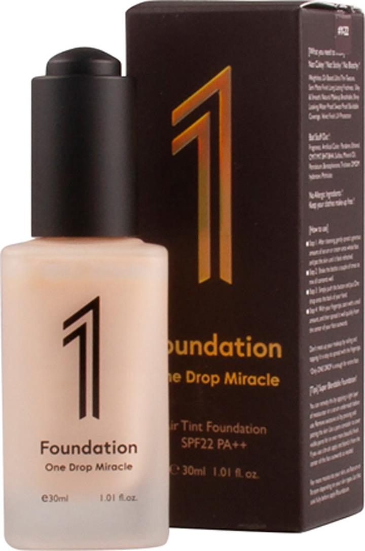 Y22 One Drop Miracle 1 Foundation 30ml - Natural Beige: yellow