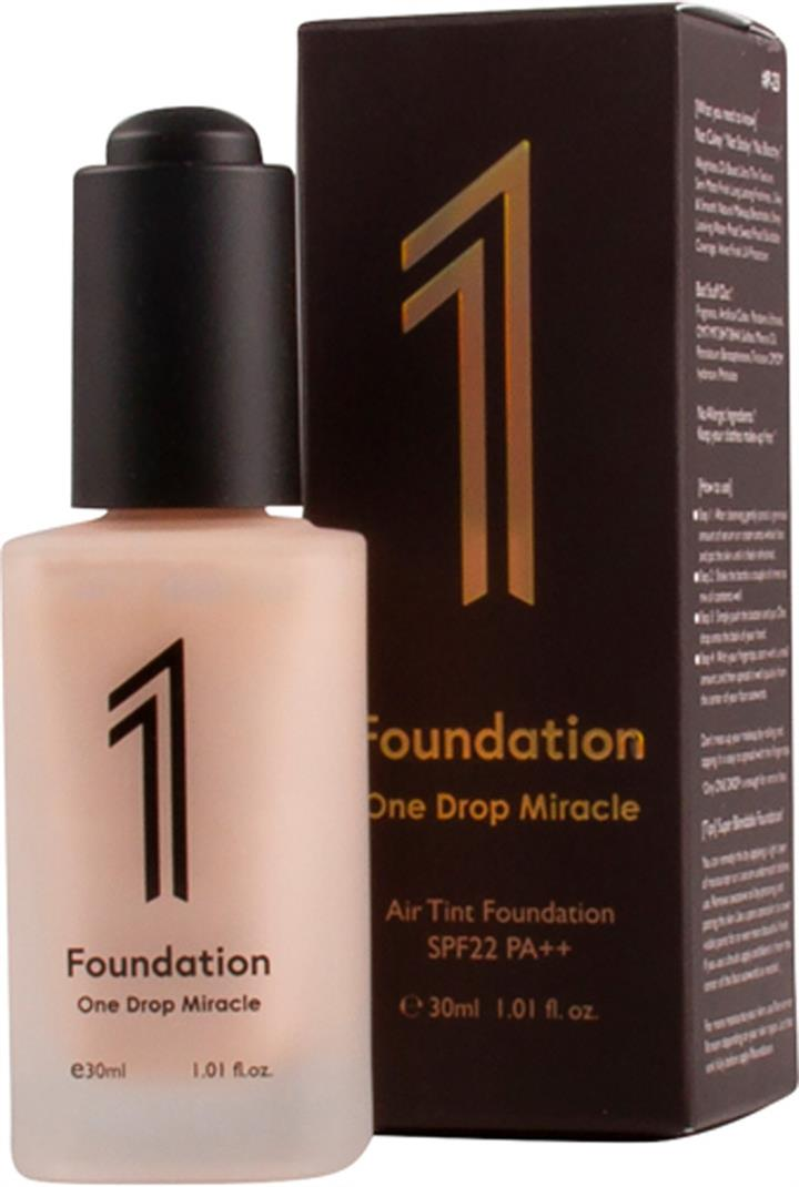 P23 One Drop Miracle 1 Foundation 30ml - Beige: pink undertone