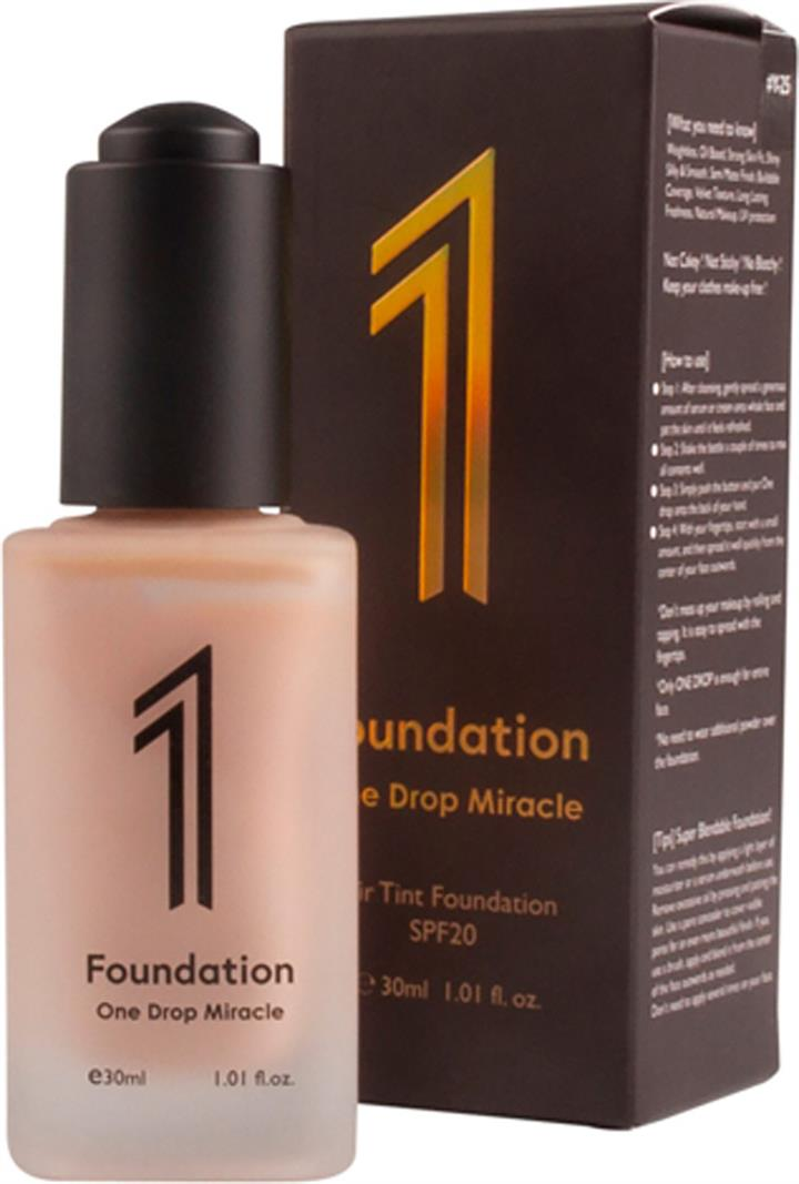 Y25 One Drop Miracle 1 Foundation 30ml - Dark Beige: yellow undertone