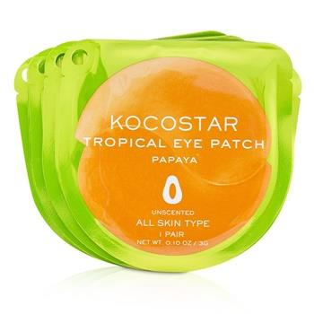 KOCOSTAR Tropical Eye Patch Unscented - Papaya (Individually packed) 10pairs Skincare