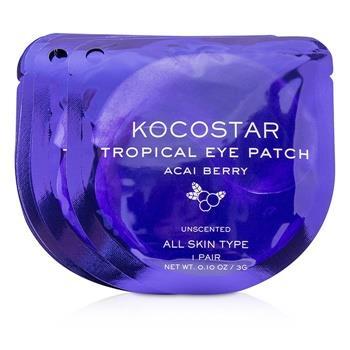 KOCOSTAR Tropical Eye Patch Unscented - Acai Berry (Individually packed) 10pairs Skincare