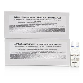 Babor Ampoule Concentrates Hydration Hydra Plus (Salon Size) 24x2ml/0.06oz Skincare