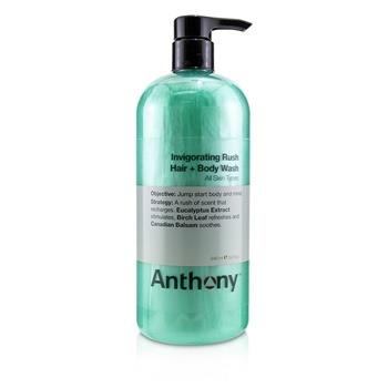 Anthony Invigorating Rush Hair & Body Wash (All Skin Types) 946ml/32oz Men's Skincare