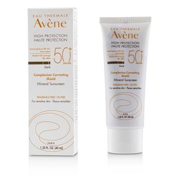 Avene Complexion Correcting Shield Mineral Sunscreen SPF 50 – #Dark (For Sensitive Skin) 40ml/1.35oz Skincare