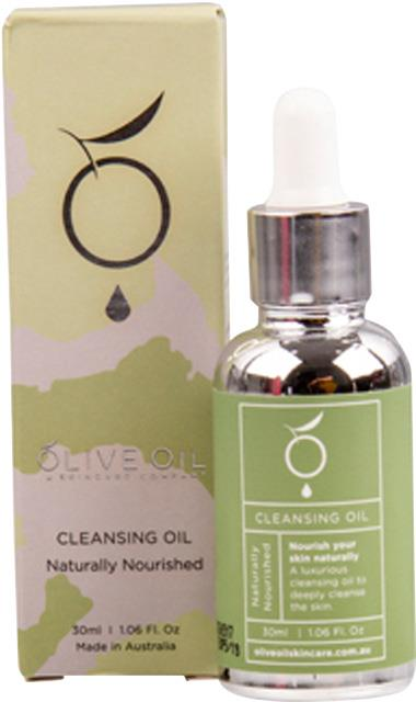 Olive Oil Skincare Company Cleansing Oil Naturally Nourished 30ml
