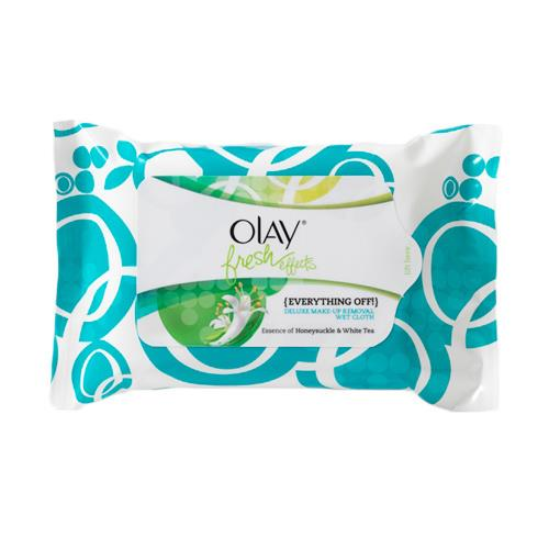 Olay Fresh Effects Deluxe Make Up Removal Wet Cloths 25pk