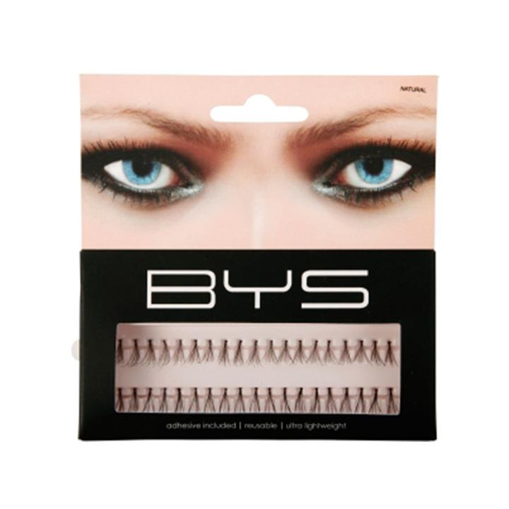 BYS Eyelashes 23 Individual Strip Natural