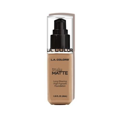 LA Colors Truly Matte Liquid Foundation Sand 40ml