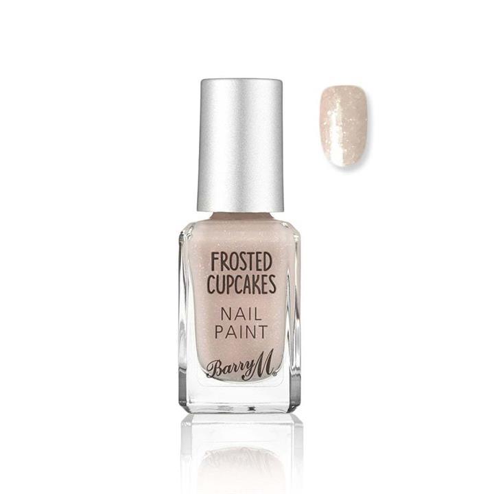 Barry M Frosted Cupcakes Nail Polish 647 Marshmallow 10ml