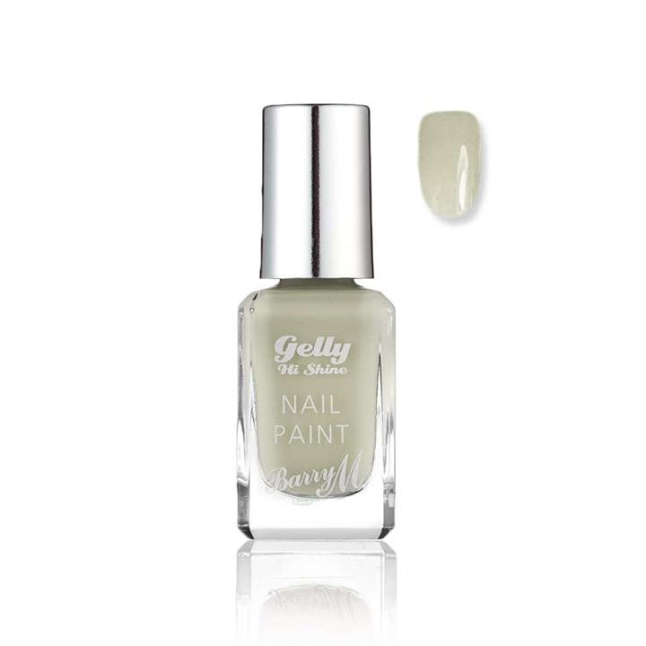Barry M Gelly Hi Shine Nail Polish 623 Cream Soda 10ml