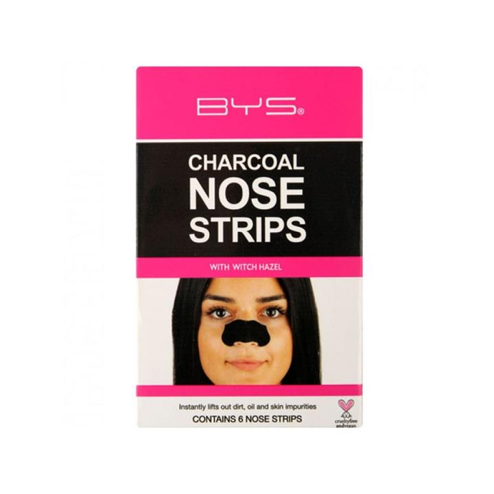 BYS Charcoal Nose Strips