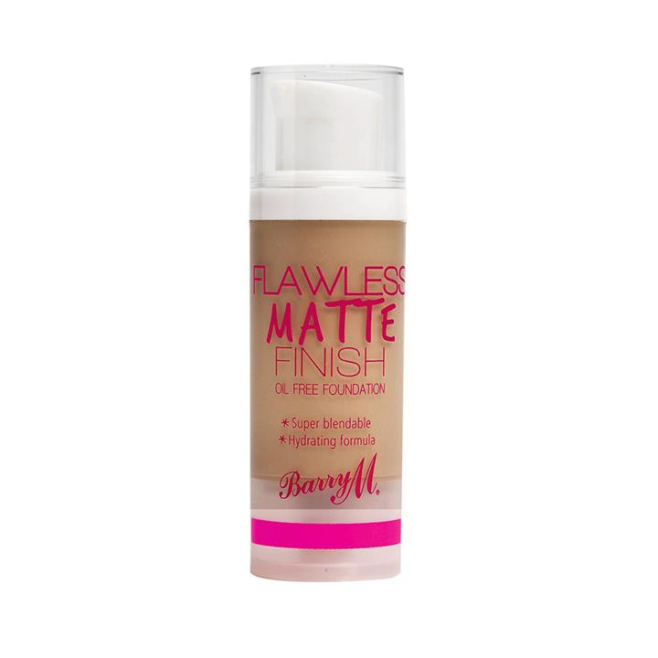 Barry M Flawless Matte Finish Oil Free Foundation Beige 3 30g
