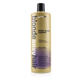 Sexy Hair Concepts Blonde Sexy Hair Bright Blonde Violet Shampoo (For Blonde, Highlighted and Silver Hair) 1000ml/33.8oz Hair Care