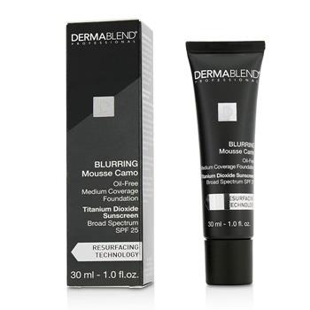 Dermablend Blurring Mousee Camo Oil Free Foundation SPF 25 (Medium Coverage) - #0C Ivory (Exp. Date 10/2019) 30ml/1oz Make Up