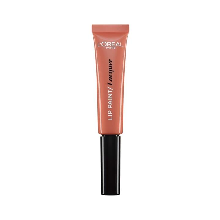 L'Oreal Lip Paint Lacquer 101 Gone With The Nude 8ml