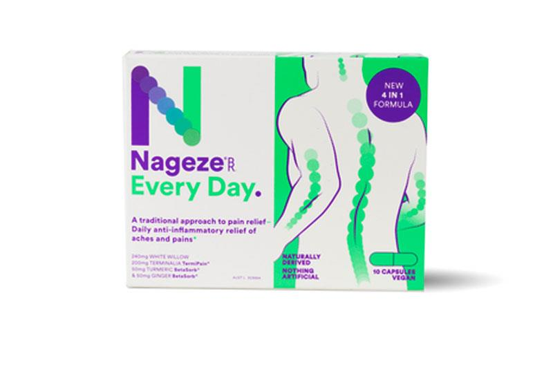 BioRevive Nageze Every Day Pain Cap X 10