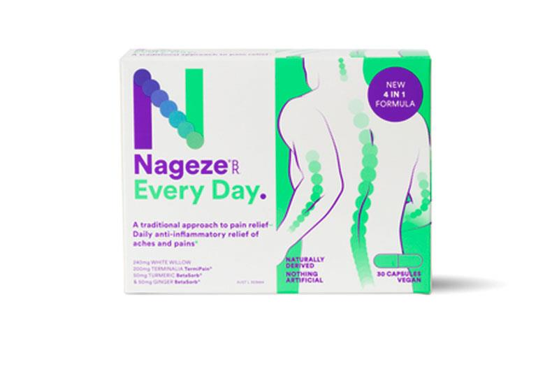 BioRevive Nageze Every Day Pain Cap X 30
