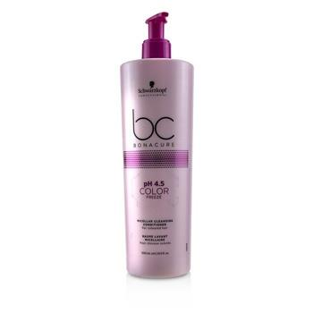 Schwarzkopf BC Bonacure pH 4.5 Color Freeze Micellar Cleansing Conditioner (For  Coloured Hair) 500ml/16.9oz Hair Care
