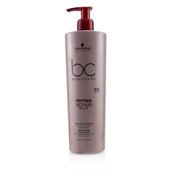 Schwarzkopf BC Bonacure Peptide Repair Rescue Micellar Shampoo (For Fine to Normal Damaged Hair) 500ml/16.9oz Hair Care