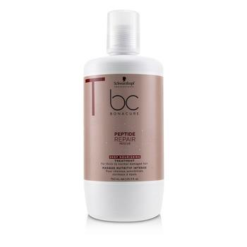 Schwarzkopf BC Bonacure Peptide Repair Rescue Deep Nourishing Treatment (For Thick to Normal Damaged Hair) 750ml/25.3oz Hair Care