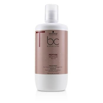 Schwarzkopf BC Bonacure Peptide Repair Rescue Treatment (For Fine to Normal Damaged Hair) 750ml/25.3oz Hair Care