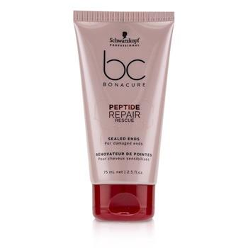 Schwarzkopf BC Bonacure Peptide Repair Rescue Sealed Ends (For Damaged Ends) 75ml/2.5oz Hair Care