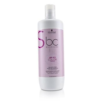 Schwarzkopf BC Bonacure pH 4.5 Color Freeze Sulfate-Free Micellar Shampoo (For Coloured Hair) 1000ml/33.8oz Hair Care