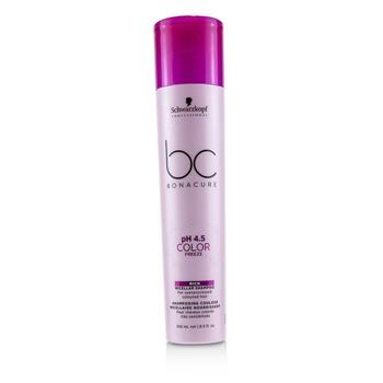 Schwarzkopf BC Bonacure pH 4.5 Color Freeze Rich Micellar Shampoo (For Overprocessed Coloured Hair) 250ml/8.5oz Hair Care