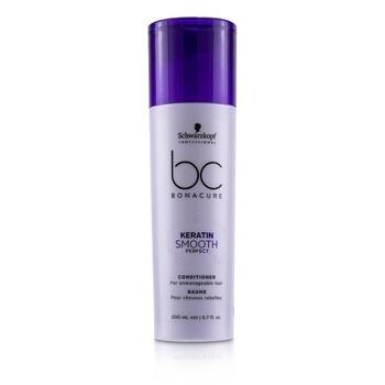 Schwarzkopf BC Bonacure Keratin Smooth Perfect Conditioner (For Unmanageable Hair) 200ml/6.7oz Hair Care