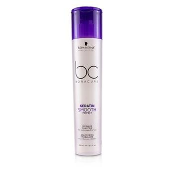 Schwarzkopf BC Bonacure Keratin Smooth Perfect Micellar Shampoo (For Unmanageable Hair) 250ml/8.5oz Hair Care