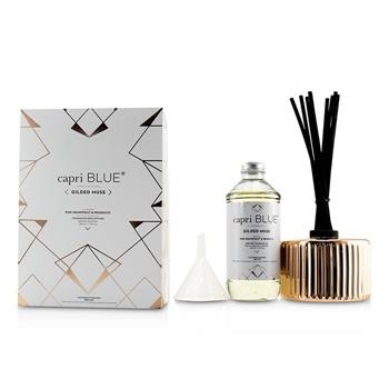 Capri Blue Gilded Muse Reed Diffuser - Pink Grapefruit & Prosecco 230ml/7.75oz Home Scent