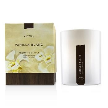 Thymes Aromatic Candle - Vanilla Blanc 9oz Home Scent