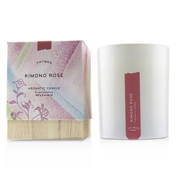 Thymes Aromatic Candle - Kimono Rose 9oz Home Scent