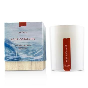 Thymes Aromatic Candle - Aqua Coralline 9oz Home Scent