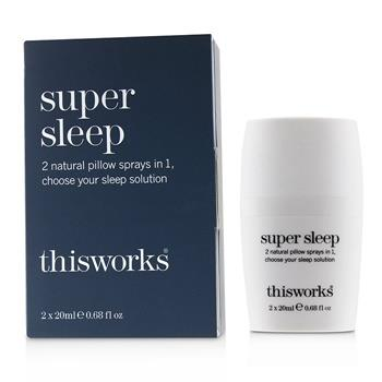 This Works Super Sleep Pillow Spray 2x20ml/0.68oz Home Scent