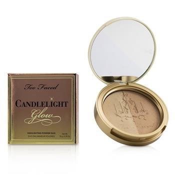 Too Faced Candlelight Glow Highlighting Powder Duo – # Warm Glow 10g/0.35oz Make Up