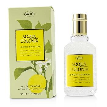 4711 Acqua Colonia Lemon & Ginger Eau De Cologne Spray 50ml/1.7oz Men's Fragrance