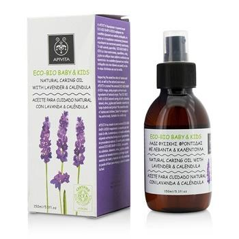 Apivita Eco-Bio Baby & Kids Natural Caring Oil With Lavender & Calendula (Exp. Date: 11/2019) 150ml/5oz Skincare