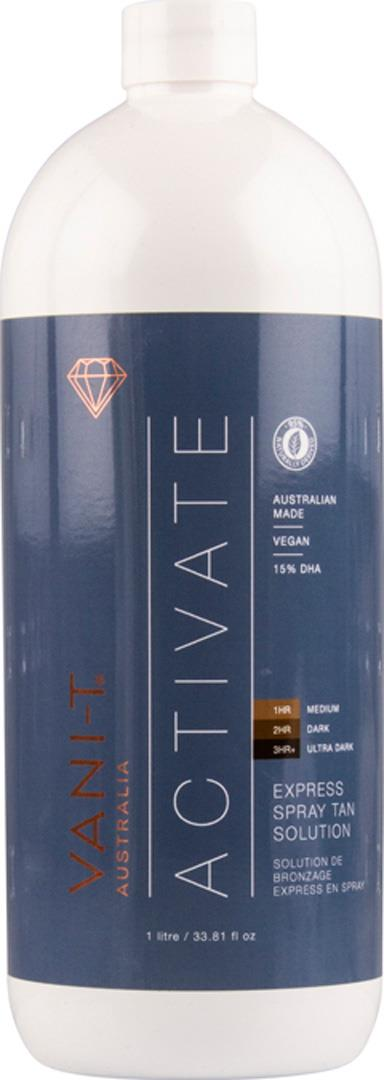Vani-t Activate Express Spray Tan Solution 1L