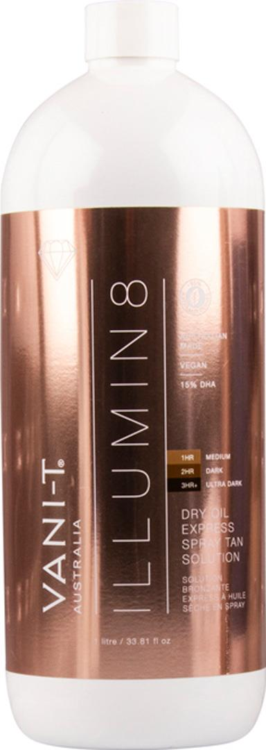 Vani-t Illumin8 Dry Oil Express Spray Tan Solution 1L