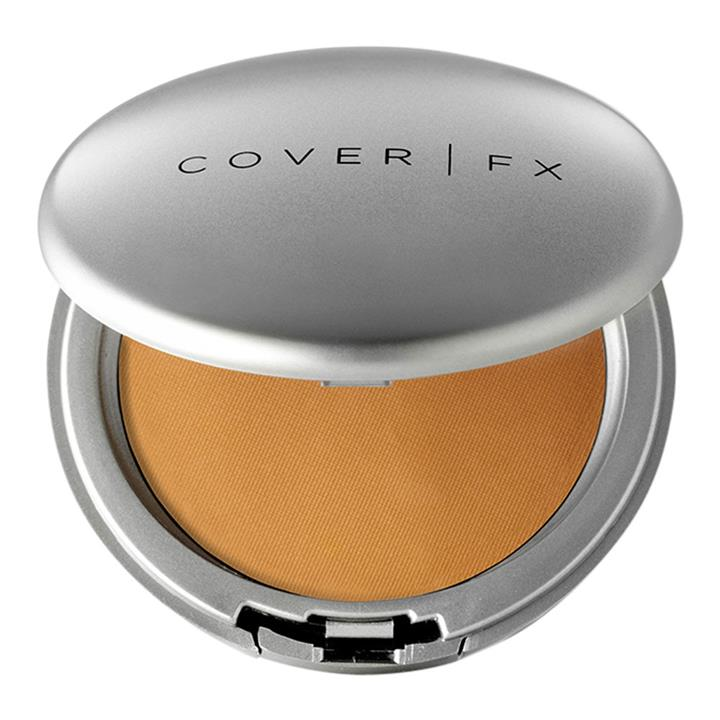 Cover FX Blotting Powder Deep: Completely sheer with a hint of tint for deeper skintones