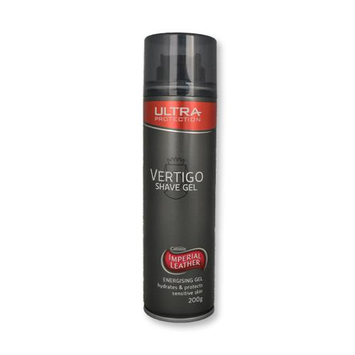Imperial Leather Vertigo Shave Gel Ultra Protection Energising Gel 200g
