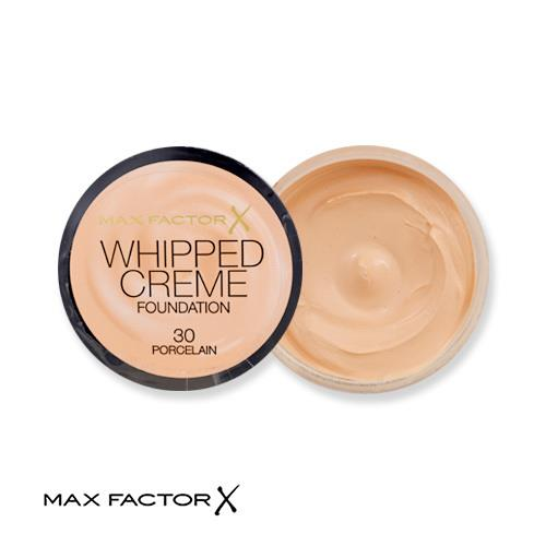 Max Factor Whipped Creme Foundation 30 Porcelain 18ml
