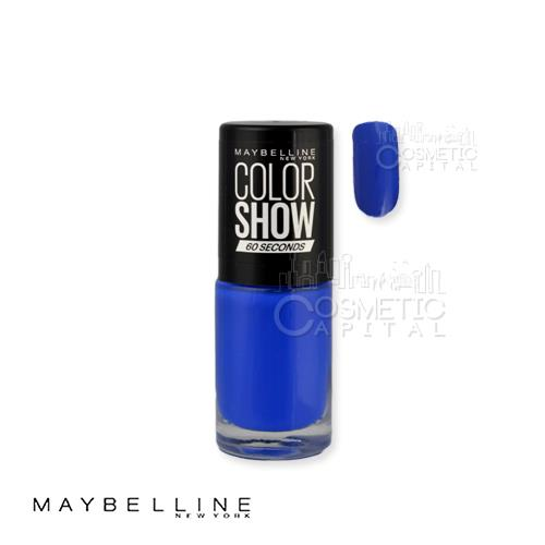 Maybelline Color Show 60 Seconds Nail Polish 335 Broadway Blues 7ml