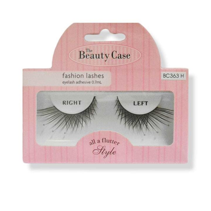 The Beauty Case False Fashion Lashes All A Flutter Style Bc363H